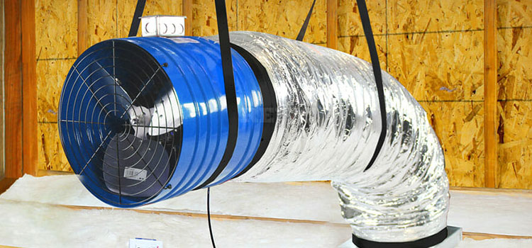 AtticFiveStars Construction - Whole House Fan Installation